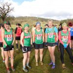 Ladies sc team at Corwen